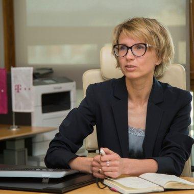 Dina Tsybulskaya, CEO pentru Telekom România Mobile Communications de la 1 septembrie