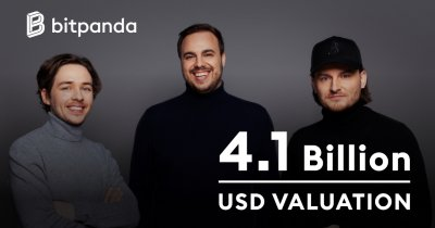 Austrian fintech unicorn Bitpanda now valued at $4.1 billion
