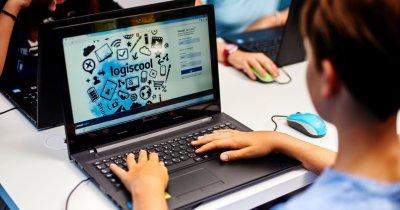 Fundația pentru Educație Digitală Logiscool: cursuri pentru alfabetizare digitală