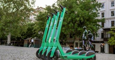 Trotinetele electrice Bolt ajung la Sibiu. Care este tariful unei curse
