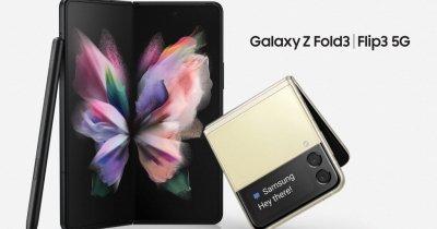 Galaxy Z Flip3 și Galaxy Z Fold3, la vânzare în România. Prețurile de pornire