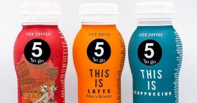 """5 to go se extinde și lansează gama de produse ambalate """"ready to drink"""""""