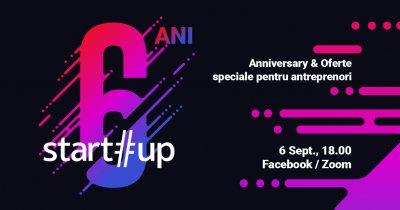 start-up.ro la 6 ani: întâlnire virtuală și ofertă specială pentru antreprenori