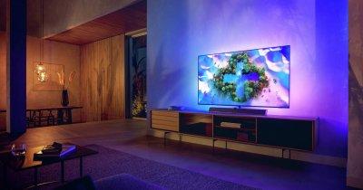 Philips lansează două noi modele de televizoare OLED+