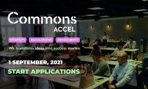 Commons Accel acceptă înscrieri pentru cohorta #5