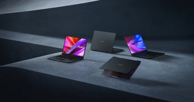 Asus mizează pe OLED și lansează noi laptop-uri pentru creatorii de conținut