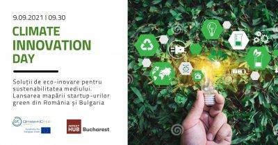 Climate Innovation Day: Summit dedicat combaterii schimbărilor climatice