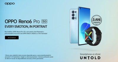 Oppo Reno 6 Pro și Reno 6, lansate oficial pe piața din România cu precomandă