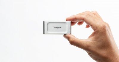 Acest nou SSD portabil de la Kingston îți pune 2TB de stocare în buzunar
