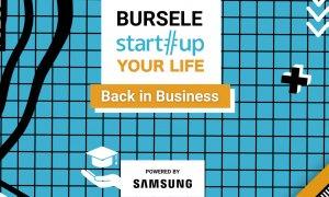 Bursele Startup Your Life, powered by Samsung. Câștigă locul la tabără