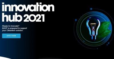 Competiția BASF Innovation Hub - înscrieri pentru startup-uri românești