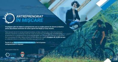Program de antreprenoriat în provincie susținut de către Decathlon
