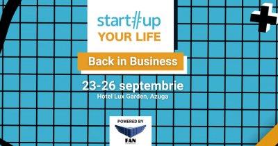 """Bursele """"Under 25"""" pentru tineri la tabăra Startup Your Life. Înscrieri rapide"""