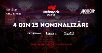 Patru producții marca VideoCorp by InternetCorp, nominalizate la Webstock Awards 2021