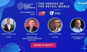 The Heroes of the Retail World: 29 septembrie la European Digital Commerce