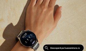 Smartwatch Huawei Watch 3 Elite, la vânzare cu o pereche de căști cadou. Preț