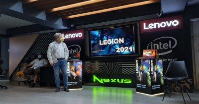 Lenovo aduce în România portofoliul de gaming Legion 2021