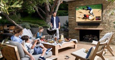 Samsung aduce televizoarele The Terrace și The Sero în România