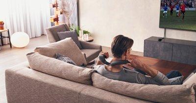 Sony lansează o boxă wireless cu fixare după gât pentru home cinema personal