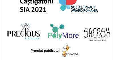 Echipele câștigătoare la Social Impact Award România - cum schimbă ele viitorul