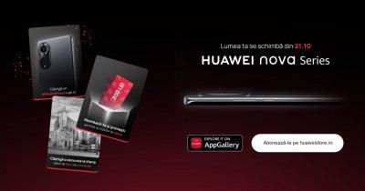 Noile telefoane Huawei Nova, lansare locală în octombrie: campanie cu premii