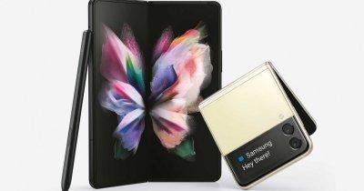 Samsung Galaxy Z Fold3 sau Z Flip3? Răspunsul îl dau vânzările