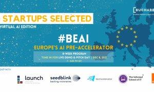 14 startup-uri românești și internaționale la pre-acceleratorul #BeAI