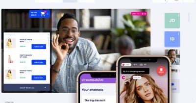 Soluția de Live Stream Shopping românească de la Oveit, integrare cu Shopify