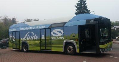 Transport verde: Teste cu autobuze cu hidrogen în 12 orașe din România