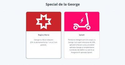 Clienții BCR pot achiziționa abonamente medicale prin aplicația George