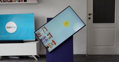 REVIEW Samsung Sero - de ce ai vrea ca televizorul să se rotească pe verticală