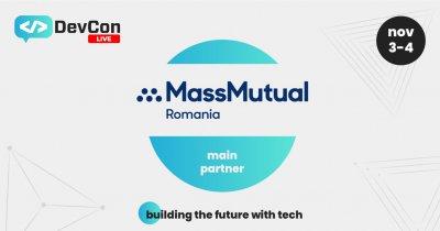 MassMutual România, sponsor principal al DevCon Live 2021