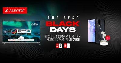 Black Friday 2021: Allview începe cu reduceri la televizoare