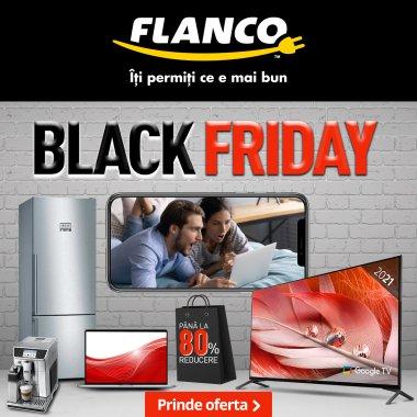 Black Friday 2021 la Flanco: campanie de reduceri activă până pe 30 noiembrie