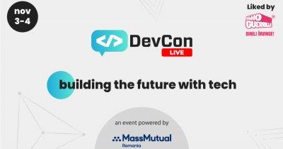 DevCon Live - speakeri de top în 9 conferințe dedicate între 3 și 4 noiembrie