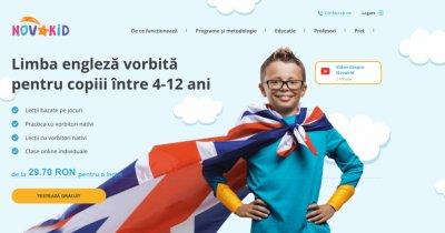 Școala online de limba engleză Novakid, lansare în România