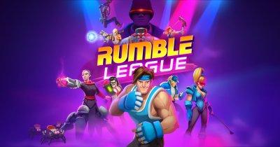 Rumble League e un joc românesc cu influențe retro-futuriste