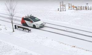 Mașina autonomă rusească nu are probleme pe zăpadă și în aglomerație