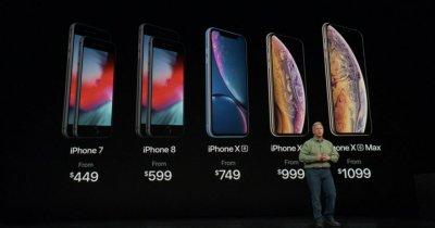 Lansarea iPhone XR, XS și XS Max: Prețuri și toate detaliile