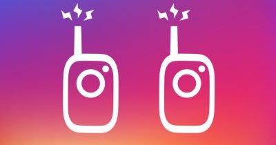 Instagram permite schimbul de mesajele vocale