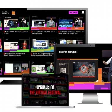 UPGRADE 100 The Virtual Festival: acum vezi online toate panelurile