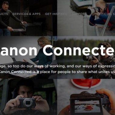 Canon Connected: hub educaţional gratuit pentru pasionații de fotografie