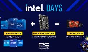 Cooler cadou pentru orice procesor Intel cumpărat alături de o placă de bază de la PCGarage