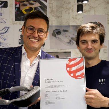 Startup-ul românesc .lumen câștigă Red Dot Luminary, Nobelul designului industrial