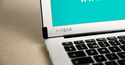 AirBar, gadgetul genial care transformă orice ecran într-unul tactil. Acum și pe MacBook